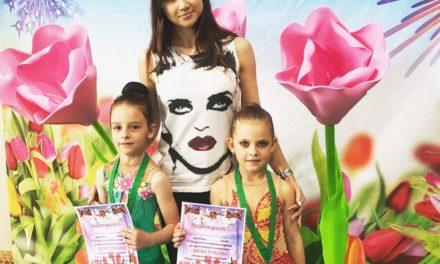 Гимнастки СК «Динамо-Ивантеевка» на турнире «Весна Победы»
