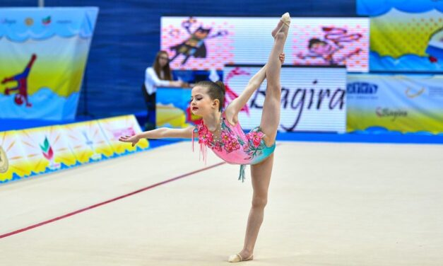 Участие гимнасток СК «Динамо-Ивантеевка» в VI Детском фестивале гимнастики «Olimpico Baby Cup 2021» в Казани