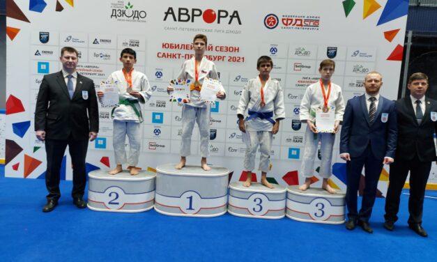 Призёр на всероссийских соревнованиях Лиги дзюдо «Аврора»