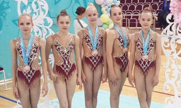 Триумф гимнасток СК «Динамо-Ивантеевка» на соревнованиях по художественной гимнастике «Весенние звездочки»